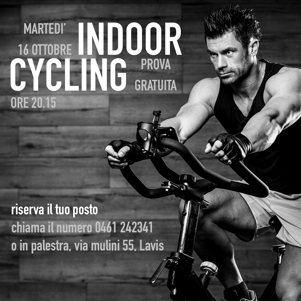 Ricomincia Indoor cycling!